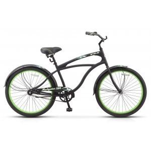 Велосипед Stels круизер, рама 17 цвет салатовый.